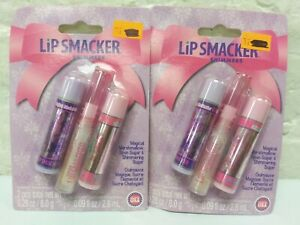 2 packs of 3 = 6 count Lip Smacker Shimmers Lip Balm magical marshmallow 0.28 ea