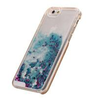 Bling Dynamic Liquid Glitter Stars Quicksand Hard Case Cover For iPhone 6 Plus 5