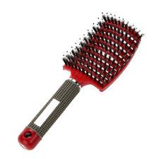 EG _Mode massage Peigne bouclé Démêle les cheveux brosse de Salon coiffure