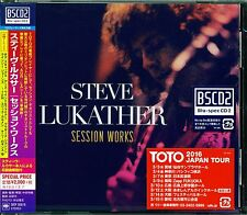 STEVE LUKATHER (TOTO GUITARIST) SESSION WORKS 2016 RMST Blu-Spec CD2 - 17 TRAX!