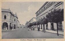 6477) GRADISCA D'ISONZO (GORIZIA) VIA MARZIANO CIOTTI. VIAGGIATA NEL 1941.