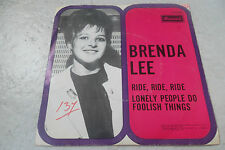 BRENDA LEE RIDE RIDE RIDE 45 RARE DUTCH