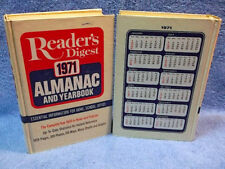 Reader's Digest 1971 Almanac & Yearbook - 2 Available-Collectible FREE SHIPPING