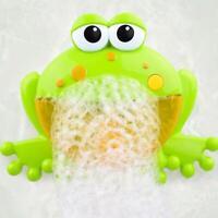 Kind Baby Bubble Badewanne Frosch Automatische Dusche Bad Musik Spielzeug Gift