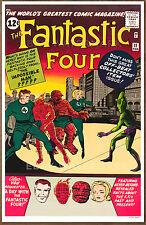 Fantastic Four #11  poster art print '92  Jack Kirby