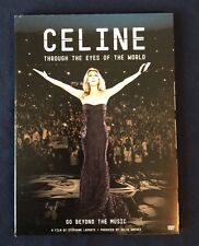 CELINE DION: THROUGH THE EYES OF THE WORLD!! (USED / LIKE NEW / EXCELLENT COND)
