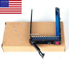 """New listing Sff 2.5"""" Hard Drive Tray Caddy Bracket 651687 For Hp G8 Gen8 Dl380p Dl360p Chips"""