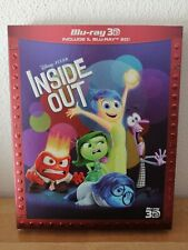 Inside Out (3d) (blu-ray Blu-ray 3d) Pixar Animation Studios