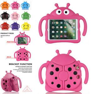 "For iPad 6 5th Gen Mini 2345 Air 2 Pro 9.7"" Kids Protect Stand Case Cute Cartoon"