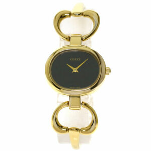 GUCCI 1600 Watches  Gold Plated/Gold Plated Ladies