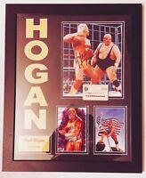 HULK HOGAN AUTHENTIC Signed Autographed WWE WWF FRAMED 8X10 PHOTO STEINER COA