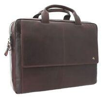 Herren-Taschen aus Leder mit Laptoptasche/Laptopschutz
