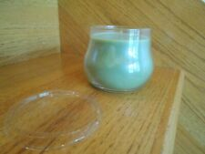 Longaberger Fresh Field Short Jar Candle sage green new *shipping included!*