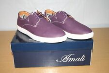 Amali Men's Purple Oxford Style Barry-049 Size 10 - BRAND NEW