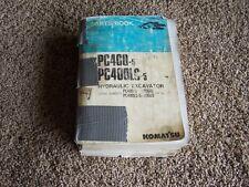 Komatsu PC400-5 PC400LC-5 Hydraulic Excavator Factory Parts Catalog Manual