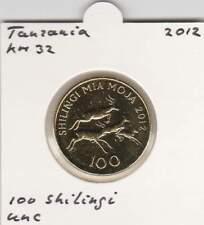 Tanzania 100 shilingi 2012 UNC - KM32 (mk019) / Antilope