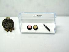 Dollhouse Miniature Blush, Powder, Brush Makeup Handcrafted Set