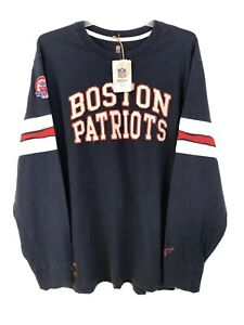 New England Patriots 50th Anniversary NFL Vintage Collection Reebok Size 2XL