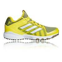 adidas Mens Hockey Lux Shoes Yellow Sports Lightweight Trainers