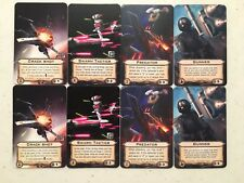 x2 Crack Shot x2 Gunner x2 Predator x2 Swarm Tact Alt Art X-Wing