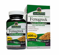 Fenugreek 600mg, 90 Capsules - Nature's Answer