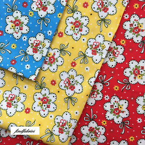 Child Smile 30's Retro Style by Lecien Fabrics Quilting Craft ~ Per Half Metres