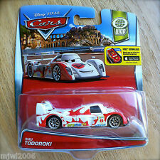 Disney PIXAR Cars SHU TODOROKI diecast WGP theme 7/13 World Grand Prix Japanese