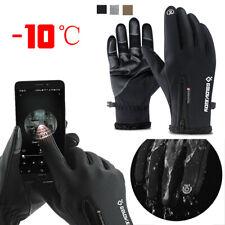 GOLOVEJOY Winter Gloves Full Finger Long Fleece Thermal Warm Gloves Touch Scree