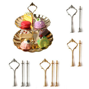 3 Tier Cake Stand Afternoon Tea Wedding Plate Party Tableware Display Decorating