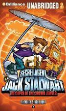 BOOK/AUDIOBOOK CD Age 6+ Elizabeth Singer Hunt SECRET AGENT JACK STALWART