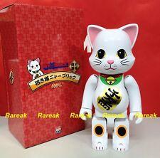 Medicom Be@rbrick 2016 NY@brick 400% Lucky Cat White NYbrick Bearbrick 1pc