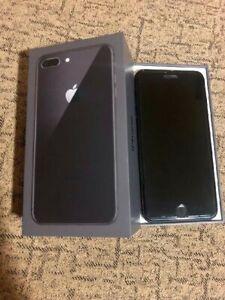 Apple iPhone 8 Plus - 256GB - negro (Libre)