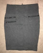 Witchery Stunning Charcoal Corporate Skirt Size 16 Excellent Quality FREE POST