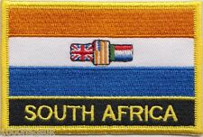 South Africa 1928 to 1994 Flag Embroidered Patch Badge - Sew or Iron on