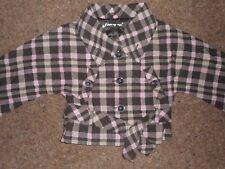 Girls cape style jacket age 6-7 years