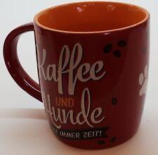 Nostalgic Art Tasse Für Kaffee und Hunde ist immer Zeit Kaffeetasse Teetasse