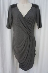 Cenia New York Dress Sz 6 Gray Multi Marilyn Fit Business Cocktail Evening Dress