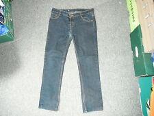 """Plazma Jeans Slim Ladies Waist 32"""" Leg 26"""" Faded Dark Blue Ladies Jeans"""