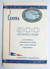 1965 300  Series Original Electronic Comm/Navigation Equip Owner's Manual