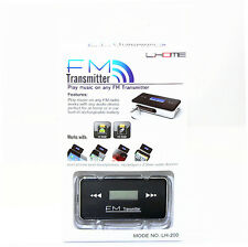 Transmisor Fm Usb coche reproductor de Mp3 Ipod Iphone 4 4s 5 5s Samsung Galaxy Note 2 3