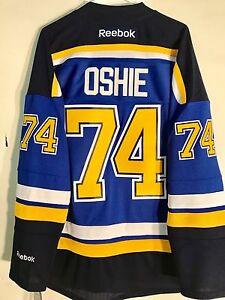 Reebok Premier NHL Jersey St.Louis Blues T.J. Oshie Blue sz M