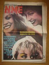 NME 1982 JUL 10 BANANARAMA THE WALL BOWIE SKIDOO DEXYS