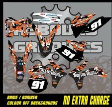 KTM 1999-2019 SX SXF XC EXC MOTOCROSS GRÁFICOS KIT 50 65 85 125 150 250 450