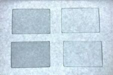 "TIFFEN 2x3"" LOT OF 4 BLACK PRO MIST GLASS RECTANGLE CAMERA FILTER"