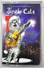 Jingle Cats Santa Claws Christmas Cassette Tape 1997 Orig World Famous New