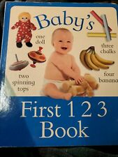 Baby's First 123 Book by AMY BARTON