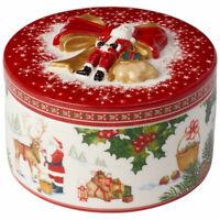 VILLEROY & BOCH Christmas Toys Porzellandose Geschenkpaket Santas Rentier XMAS
