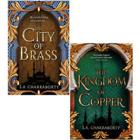S. A. Chakraborty Collection Kingdom of Copper,City of Brass 2 Books Collection