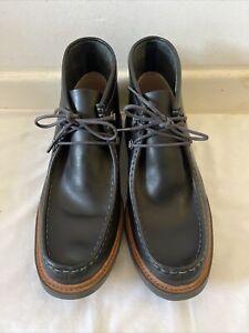 Clarks Cushion Soft Mens Black Boots UK 11G / EUR 46