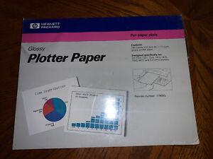 """New Hewlett Packard 17900G Glossy Plotter Paper A-size (8 1/2x11"""")"""